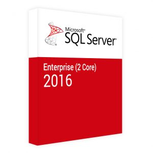 microsoft sql server enterprise 2 core 2016