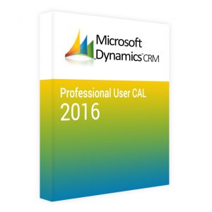 Dynamics CRM 2016 Professional CAL – User