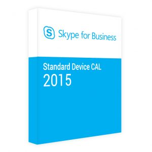 Skype for Business Server 2015 CAL Standard Device
