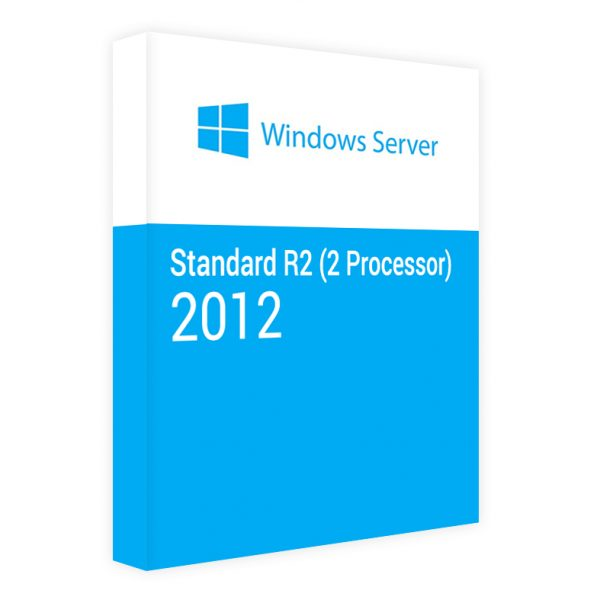 Windows Server 2012 Standard R2 (2 Processor)
