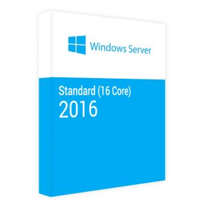 Windows Server 2016 Standard (16 Core)