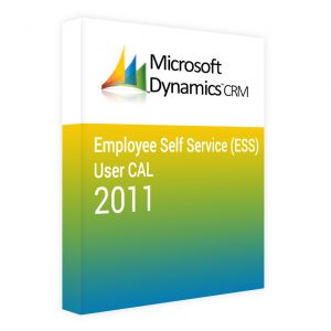Dynamics CRM 2011 Employee Self Service (ESS) CAL – User