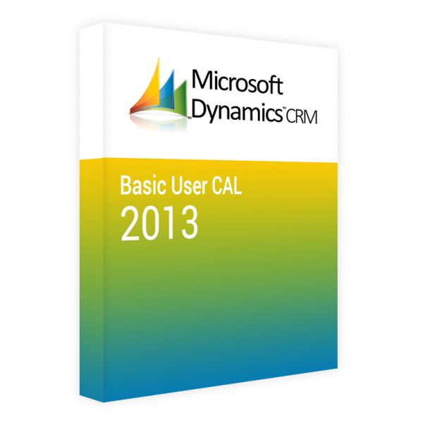 Dynamics CRM 2013 Basic CAL – User