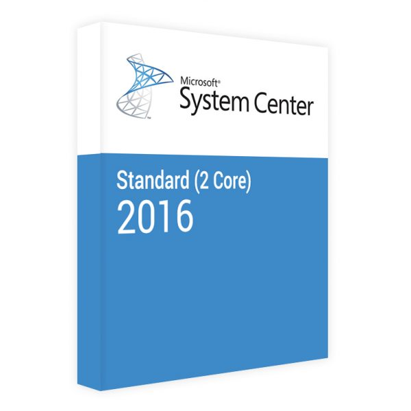 System Center 2016 Standard (2 Core)