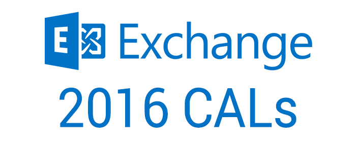 Exchange Server 2016 CALs